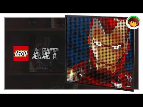 NUEVO tema LEGO ART como PIXEL ART | Imágenes Oficiales.