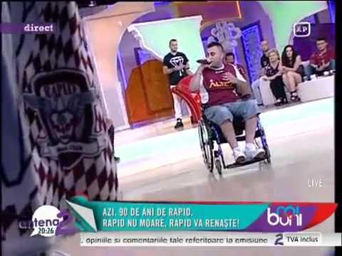 Dănuţ Mirică - Rapid Bucureşti, lumea ştie cine eşti!