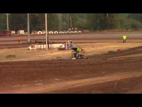 Cottage Grove Speedway, OR - 125cc Cage-Kart Hot Laps - Sept. 2, 2017