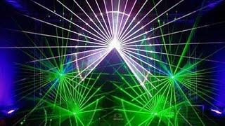 Лазерное шоу на день города Омска 03 08 14