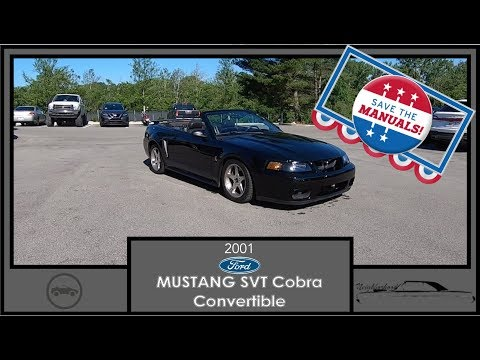 2001 Ford Mustang SVT Cobra Convertible|Walk Around Video|In Depth Review|Test Drive