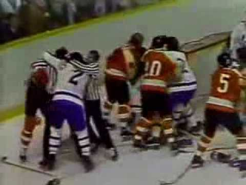 NHL FIGHTS OLD SCHOOL