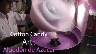 Cotton Candy Art Pro - Arte Con AlgodÓn De AzÚcar - 綿菓子 - 棉花糖 - САХАРНАЯ ВАТА