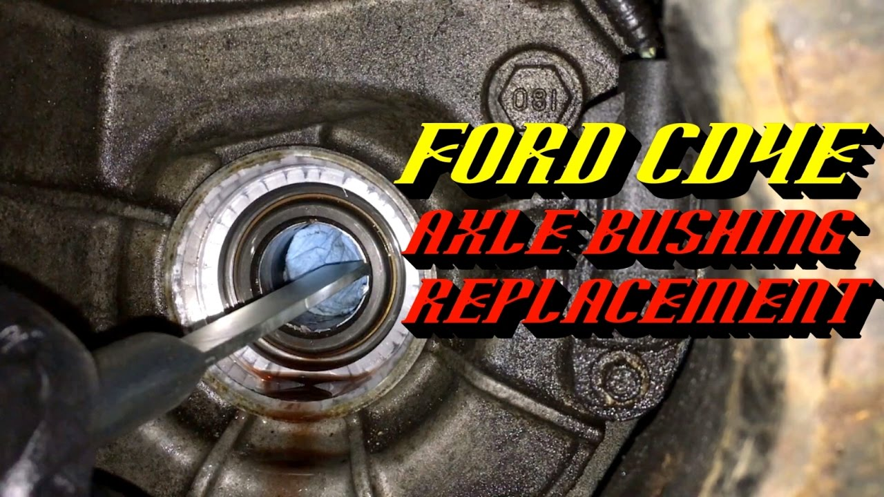 2001 2008 ford escape cd4e transmission fluid leak drivers side rh youtube com Ford CD4E Transfer Case Ford CD4E Transfer Case
