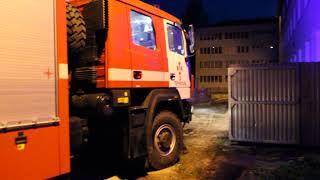 Пожежа по вулиці Текстильна,палає 2-ге Тернопільське училище
