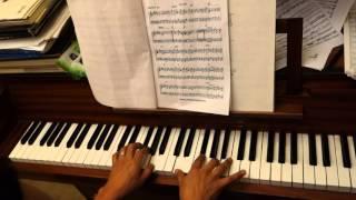 Pedro Navaja practicando piano - Ruben Blades ver 1