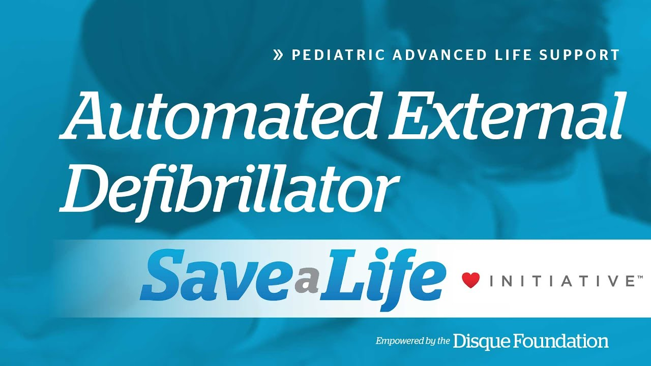 5b5 Automated External Defibrillator Pediatric Advanced Life
