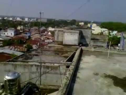 Di atas gedung di kota tebing tinggi with student SMK YPD