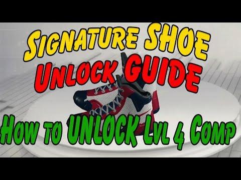 NBA 2K17 Signature Shoe Level 4 Unlock GUIDE (ALL Endorsements Level 4)