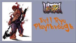 Ultra Street Fighter IV - Evil Ryu Arcade Mode Playthrough