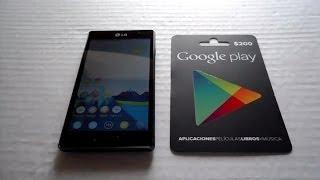 Como Canjear Tarjeta Google Play + Como Comprar en Play Store