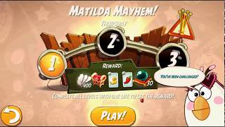 Beat The Daily Challenge King Pig Panic Completed in Angry Birds 2 Thursday(1)