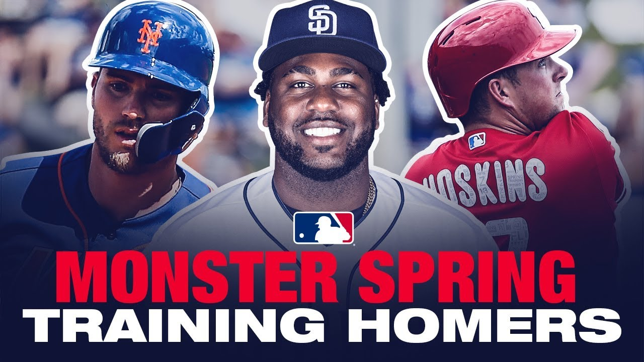 bb30d6dd8a11e4 Absolutely Crushed Spring Training Home Runs - YouTube