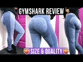 NEW GYMSHARK LEGGINGS | Thicker Girls Size & Quality Review + Squat Test