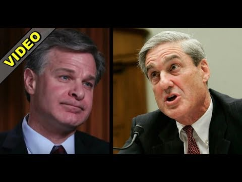 FBI DIRECTOR WRAY THROWS SALT IN ROBERT MUELLER'S GAME WITH TRUMP TRUTH BOMB!