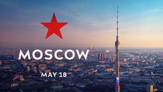Москва Россия Аэросъемка Май 2018 // DJI Phantom 4 PRO и Mavic Air