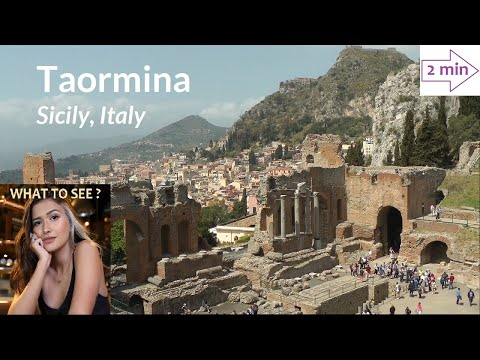 WHAT TO SEE in Taormina, Sicily, Italy (2 minutes in Europe Collection)