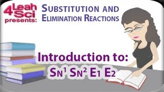 Introduction To Nucleophilic Substitution and Beta Elimination Reactions By Leah4sci