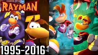 Rayman ALL INTROS 1995-2016 (PS4, Wii U, Xbox, PS2, PS1, GC, N64)