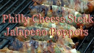 Philly Cheese Steak Jalapeno Poppers - The Best Philly Cheese Steak Poppers