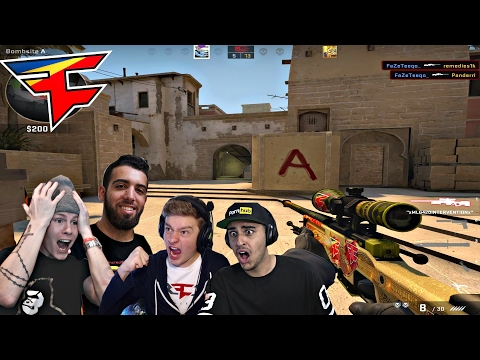 LA FaZe House FULL CS:GO GAMEPLAY!