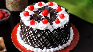 Black Forest Cake Without Condensed Milk | Eggless Dessert Recipe | Reshu Ka Kitchen