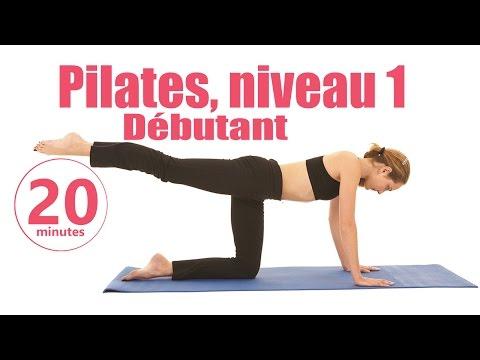 Pilates Niveau 1 Débutant - Cours fitness complet