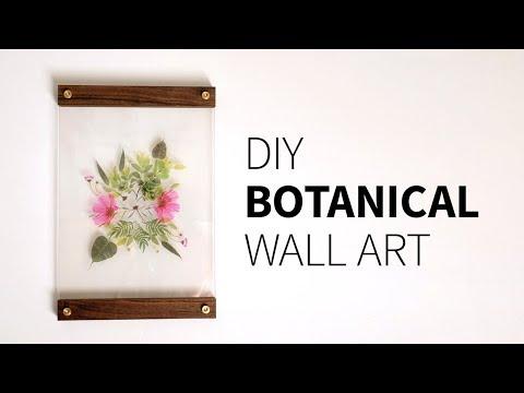 DIY Botanical Wall Art | How to