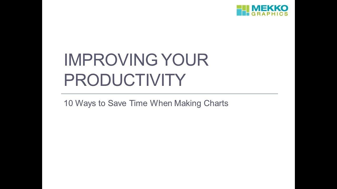 10 Ways To Improve Your Productivity with Mekko Graphics