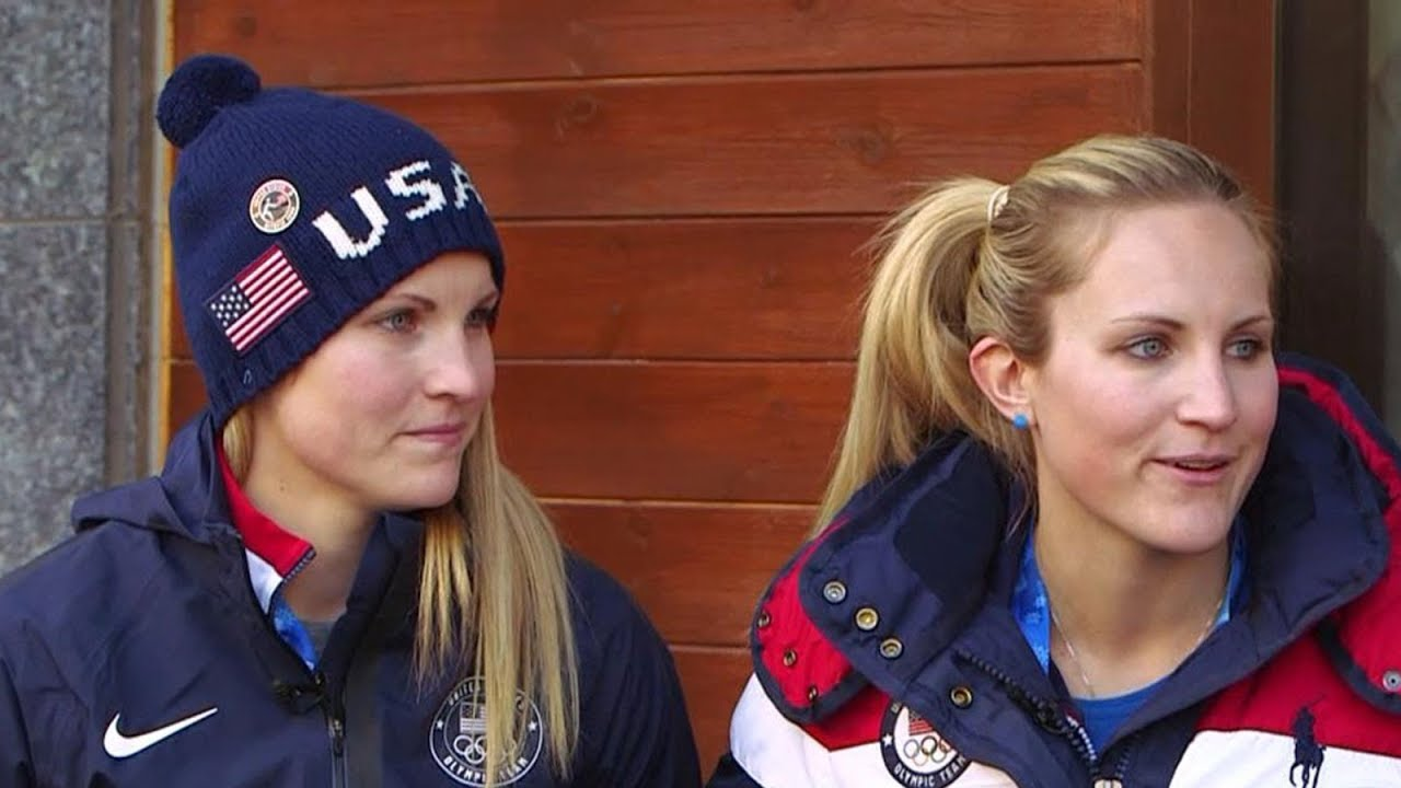 Twin sisters help US women s hockey team win Olympic gold - YouTube 06943d3467