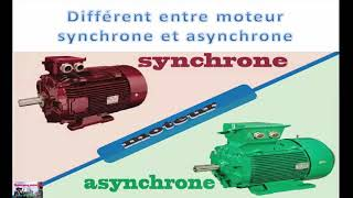 Machine Synchrone VS Machine Asynchrone