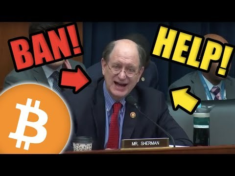 Congressman sherman ban cryptocurrencies