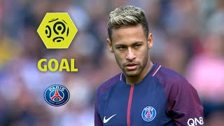 Goal NEYMAR JR (5') / Paris Saint-Germain - Girondins de Bordeaux (6-2) / 2017-18
