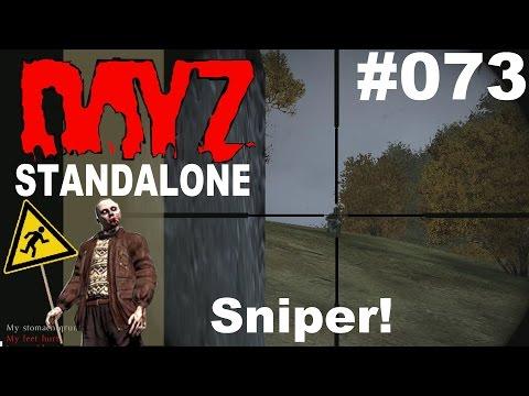 DayZ Standalone * PVP Unter Feuer vom Sniper-Hill! * DayZ Standalone Gameplay German deutsch