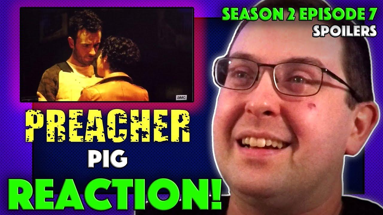"""Download REACTION! Preacher Season 2 Episode 7 - """"Pig"""""""