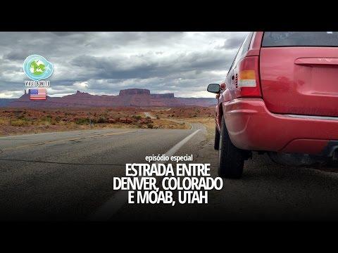 Estrada entre DENVER, CO e MOAB, UT - Viajei Bonito nos EUA'16
