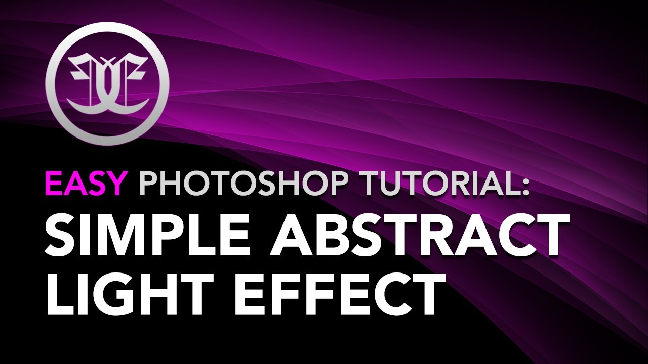 Easy photoshop tutorial simple abstract lighting effect youtube baditri Gallery