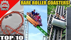 Top 10 RARE & Unusual Roller Coasters