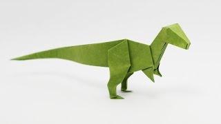 Origami Velociraptor (Jo Nakashima) - Dinosaur #6
