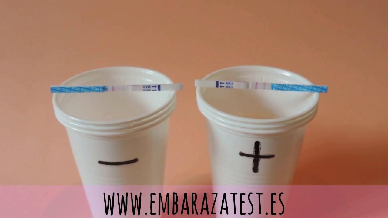 Test de embarazo positivo evatest