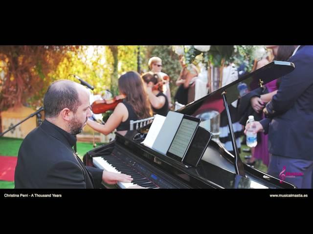 Finca Torre Antoñita Pozo Estrecho Christina Perri- A Thousand Years Música bodas cartagena