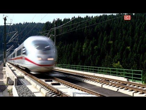VDE8: ETCS-Testfahrten auf der Neubaustrecke Ebensfeld–Erfurt im August 2017