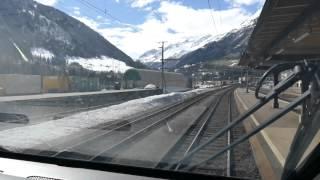 Führerstandsmitfahrt Gotthard | Bellinzona - Art Goldau