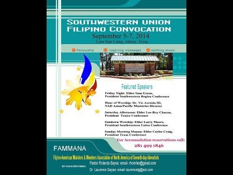 FAMMANA Convocation Southwestern Union Chapter 2014 (Friday Vesper Service) 09.05.2014