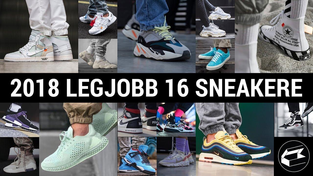 2018 legjobb 16 sneakere Sneaker Bajnokság! sneakerbox
