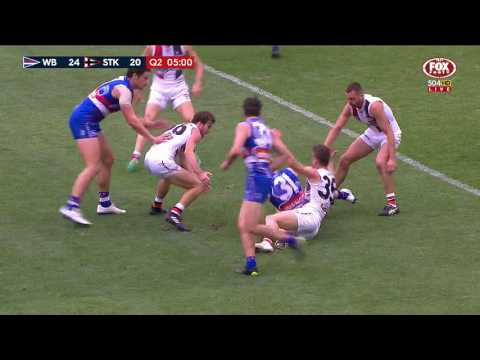 Round 10 AFL - Western Bulldogs v St Kilda Highlights