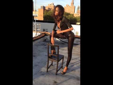 Celebrity Stylist Ty-Ron Mayes styles Victoria's Secret Supermodel Maria Borges BTS Fashion shoot