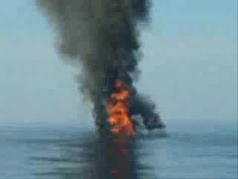 Tamil Hindu Terror Ship Destroyed