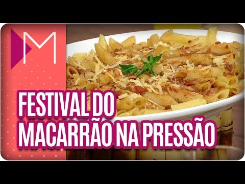 Festival do Macarrão na Pressão - Mulheres (11/04/18)