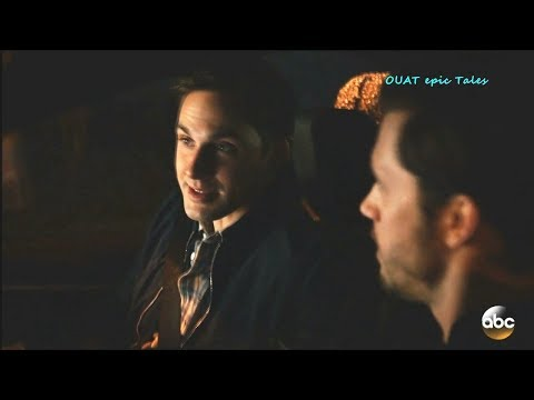 Once Upon A Time 7x16 Henry & Nick in the Car - the scar in the arm  Season 7 Episode 16 Scenes